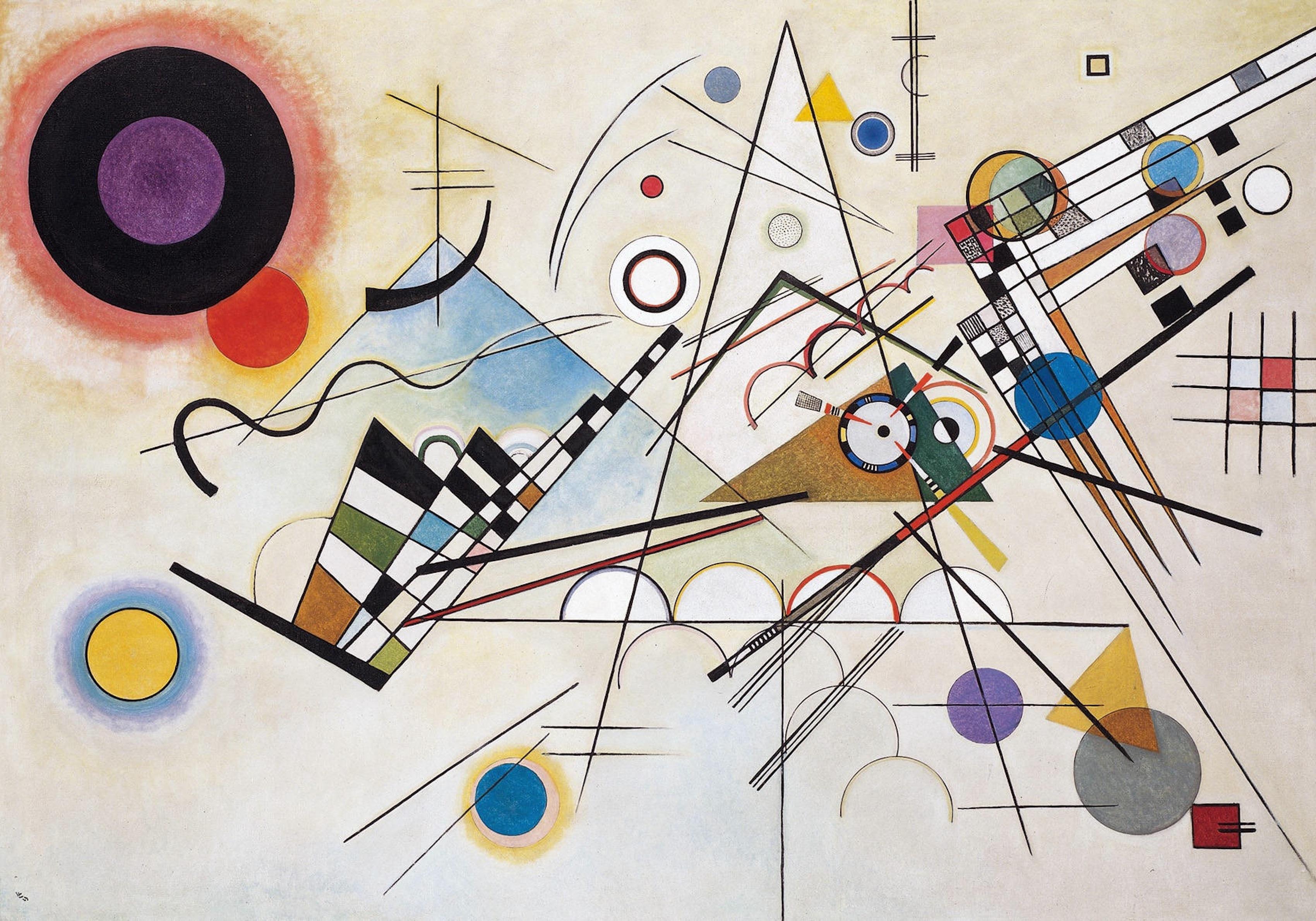 La sinestesia influyó en la obra de Kandinsky