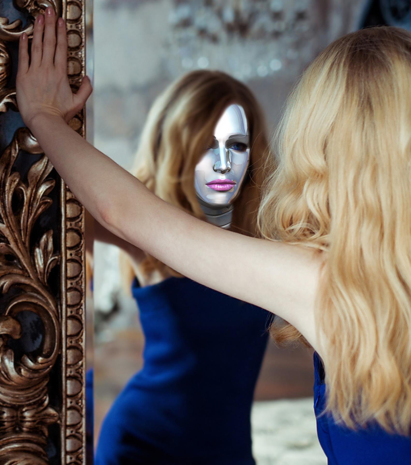 Algunas personas que sufren prosopagnosia no se reconocen al mirarse en el espejo