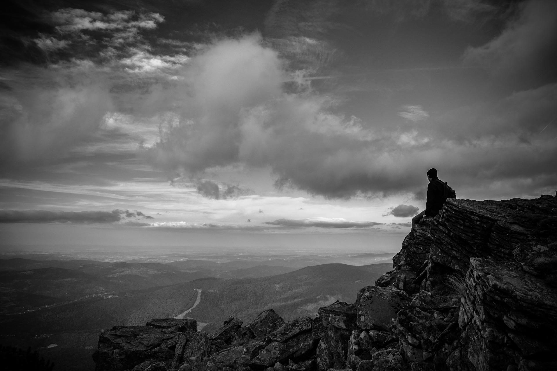 A veces, la soledad y la desesperanza pesan demasiado.