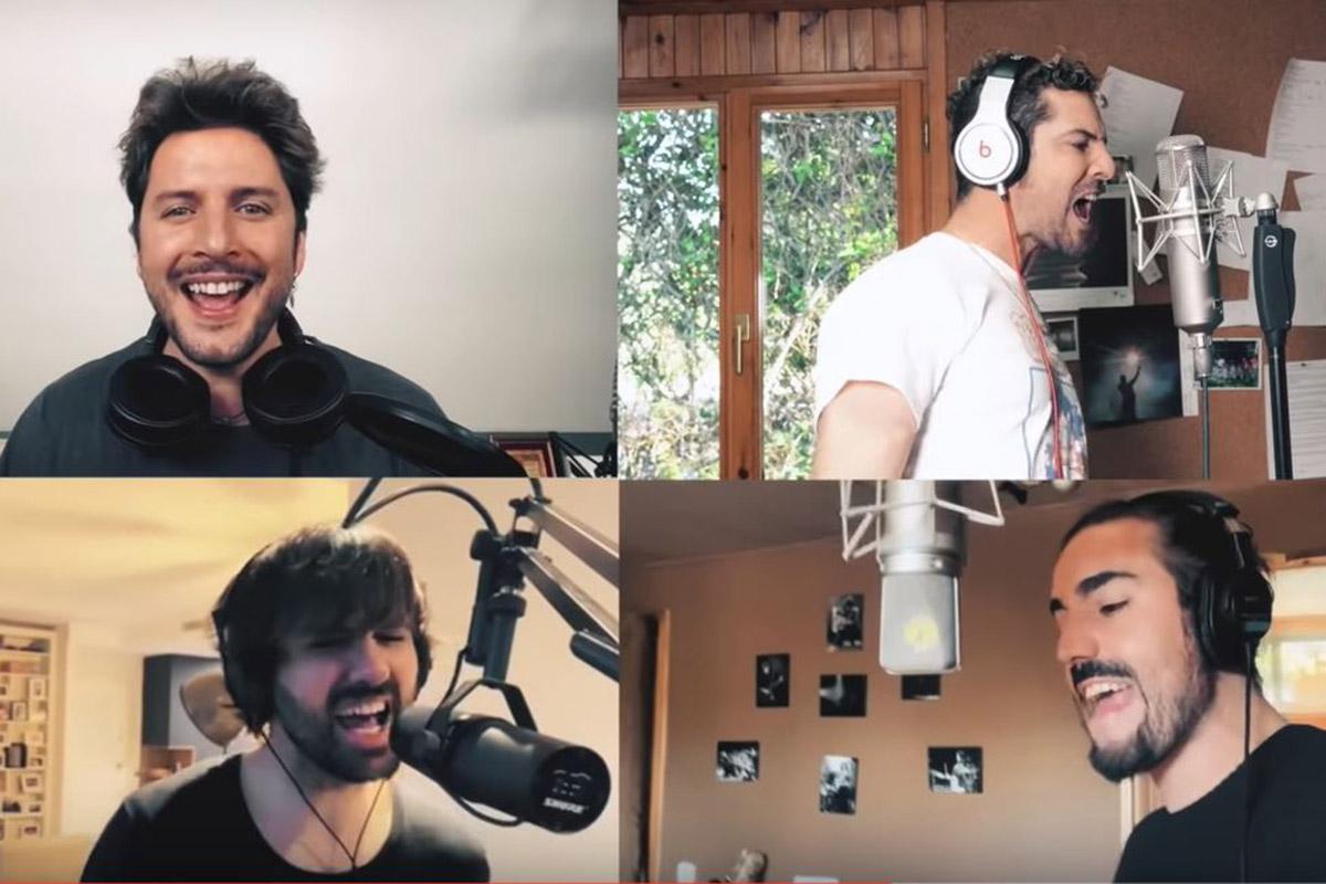 Manuel Carrasco y David Bisbal son solo algunos de los artistas que intrpretan la nueva versión de 'Resistiré'.