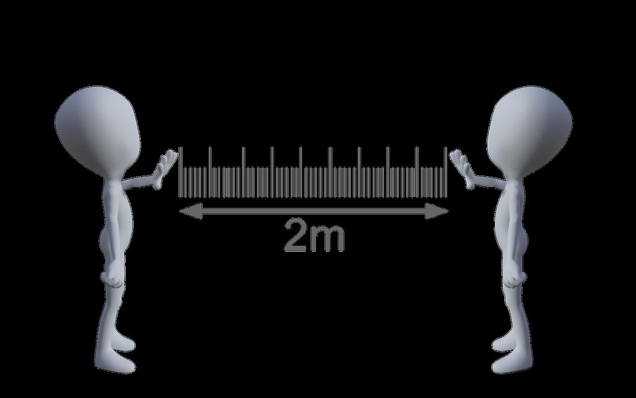 La distancia física no conlleva mantener también distancia emocional.