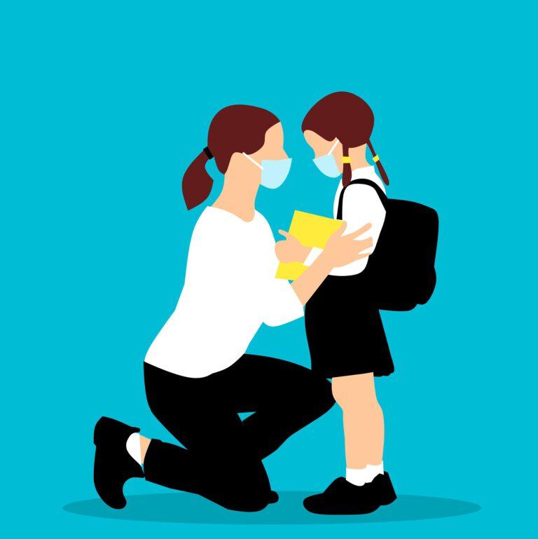 En tiempos de coronavirus, podemos preparar a nuestros hijo para que la vuelta al cole sea más fácil.