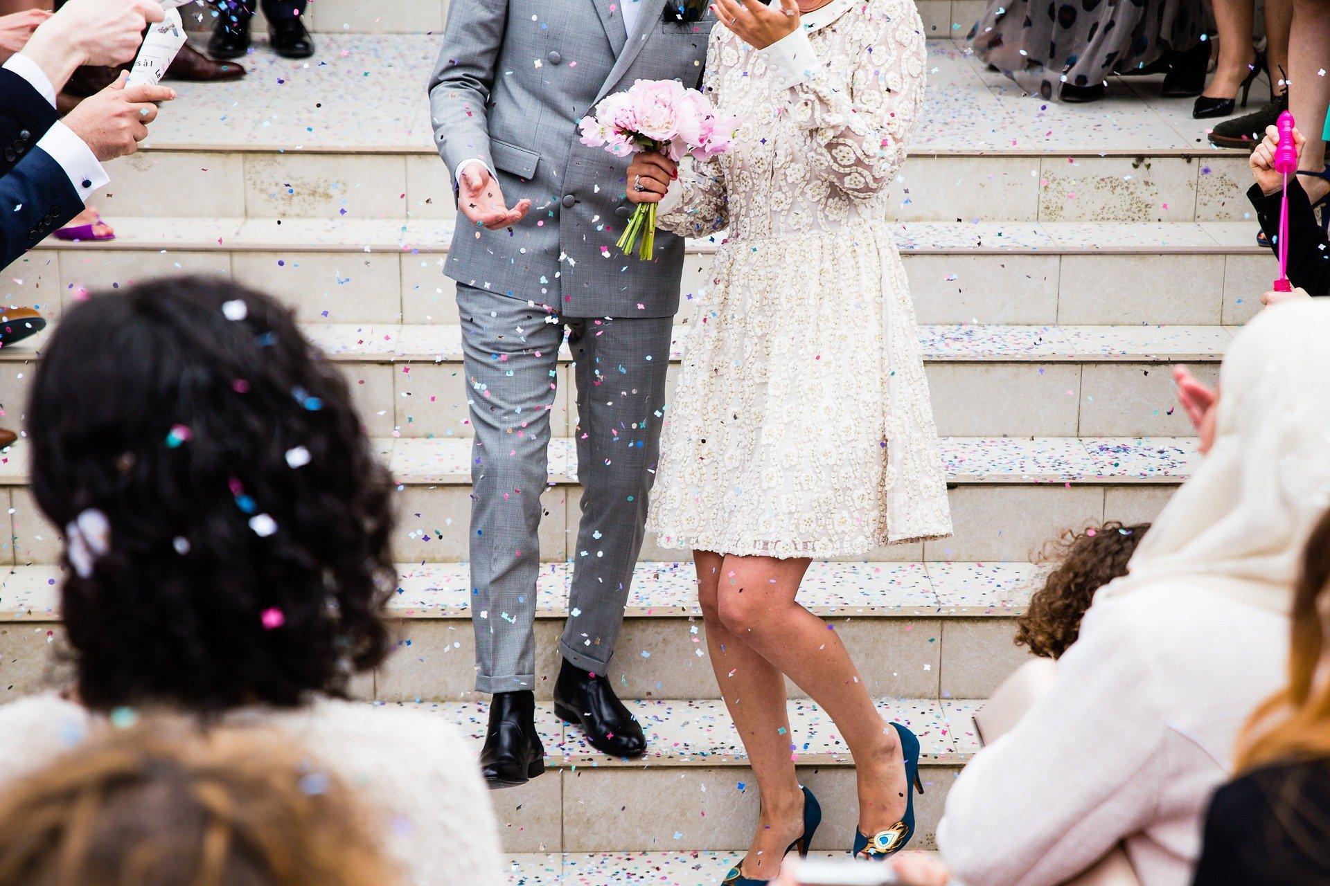 Las bodas son rituales de paso.