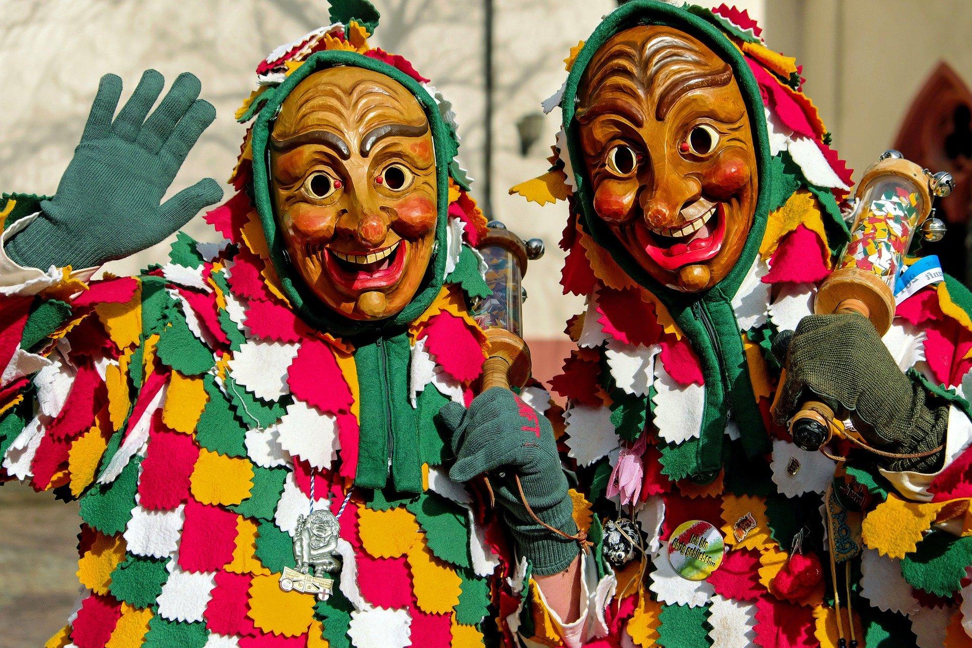 El ritual de disfrazarse es propio del Carnaval.