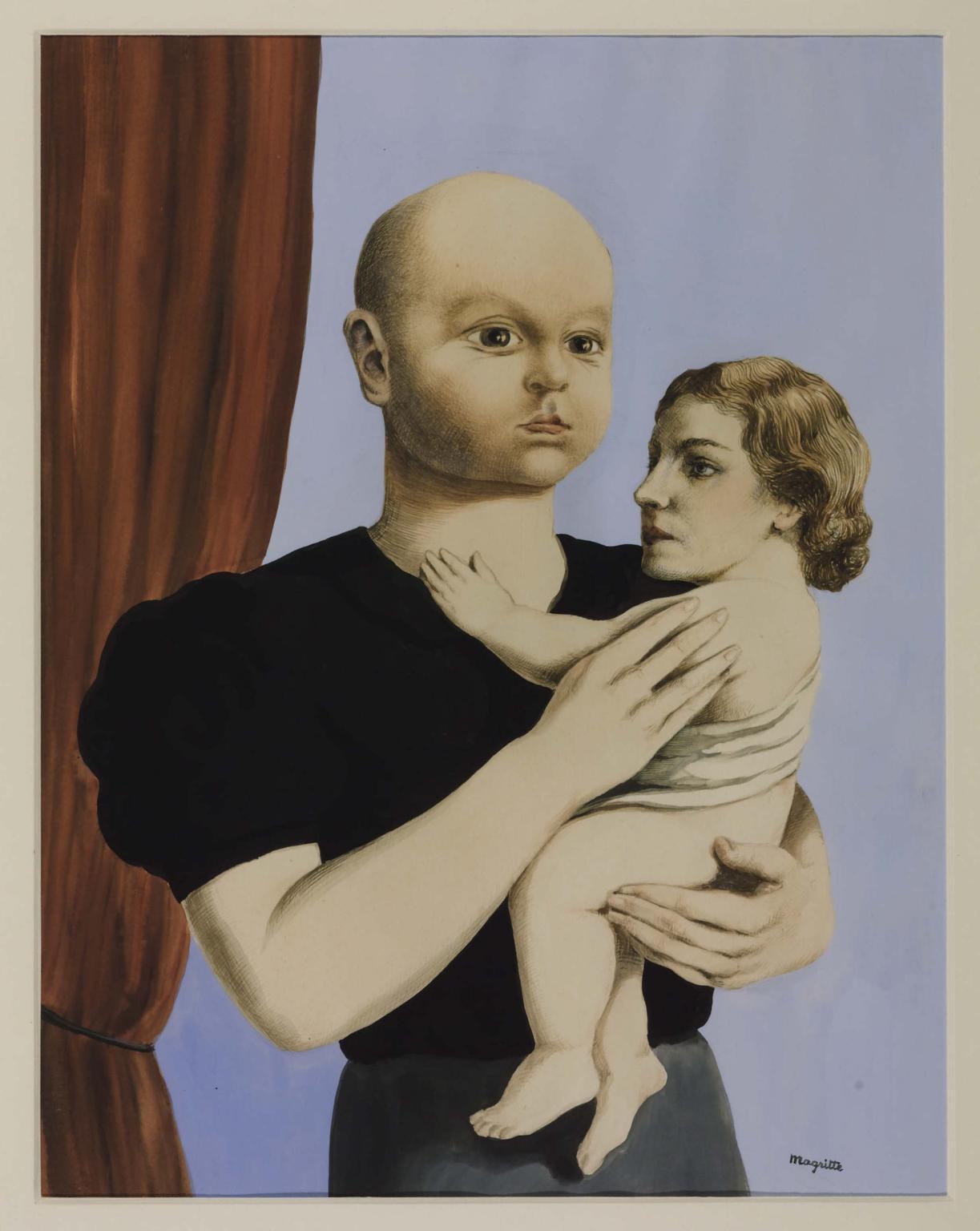 El espíritu de la geometría, de René Magritte.